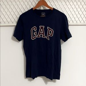 GAP Short Sleeve Logo Tee Navy